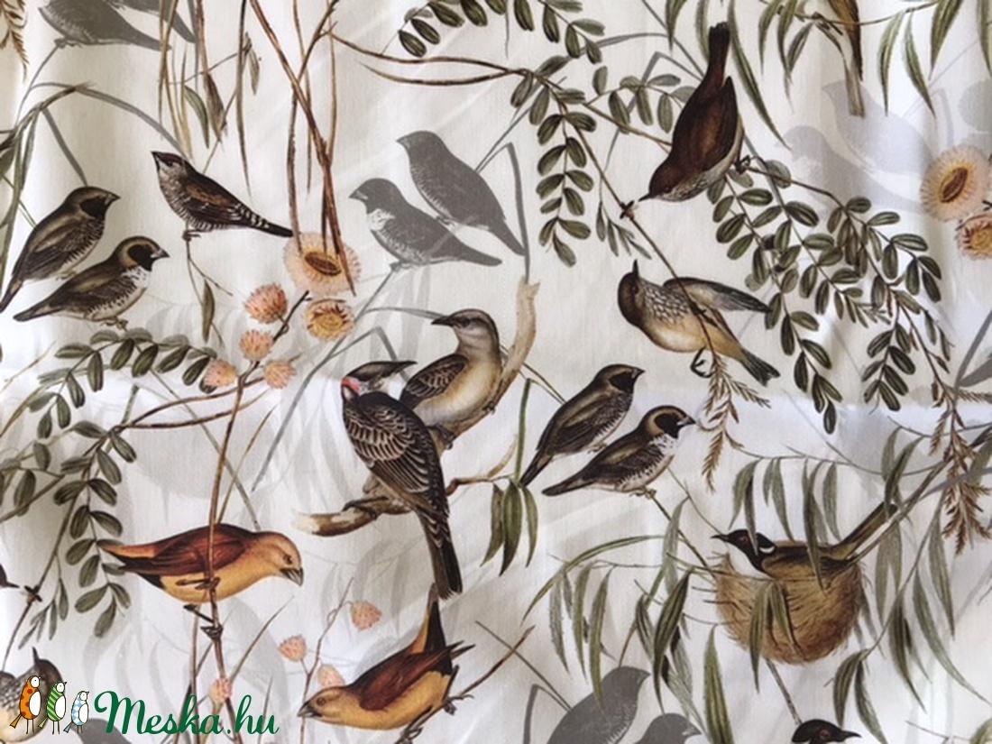 Madarak a nádasban - Nádi Rigó, madár mintás prémium arcmaszk, szájmaszk, maszk - Artiroka design - maszk, arcmaszk - női - Meska.hu