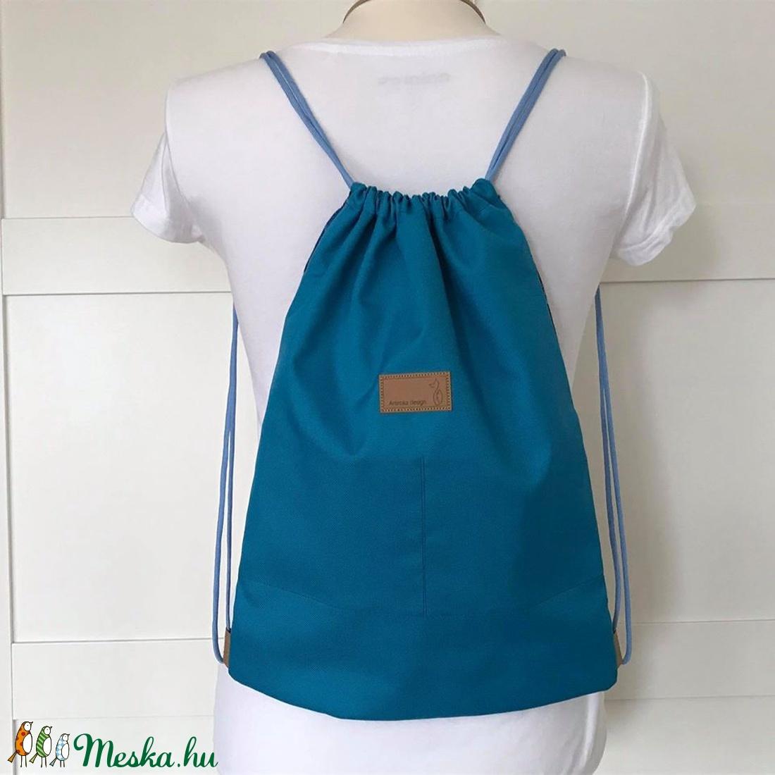 Kis herceg és a róka mintás gymbag hátizsák - Artiroka design  - ovi- és sulikezdés - tornazsák, gymbag - Meska.hu