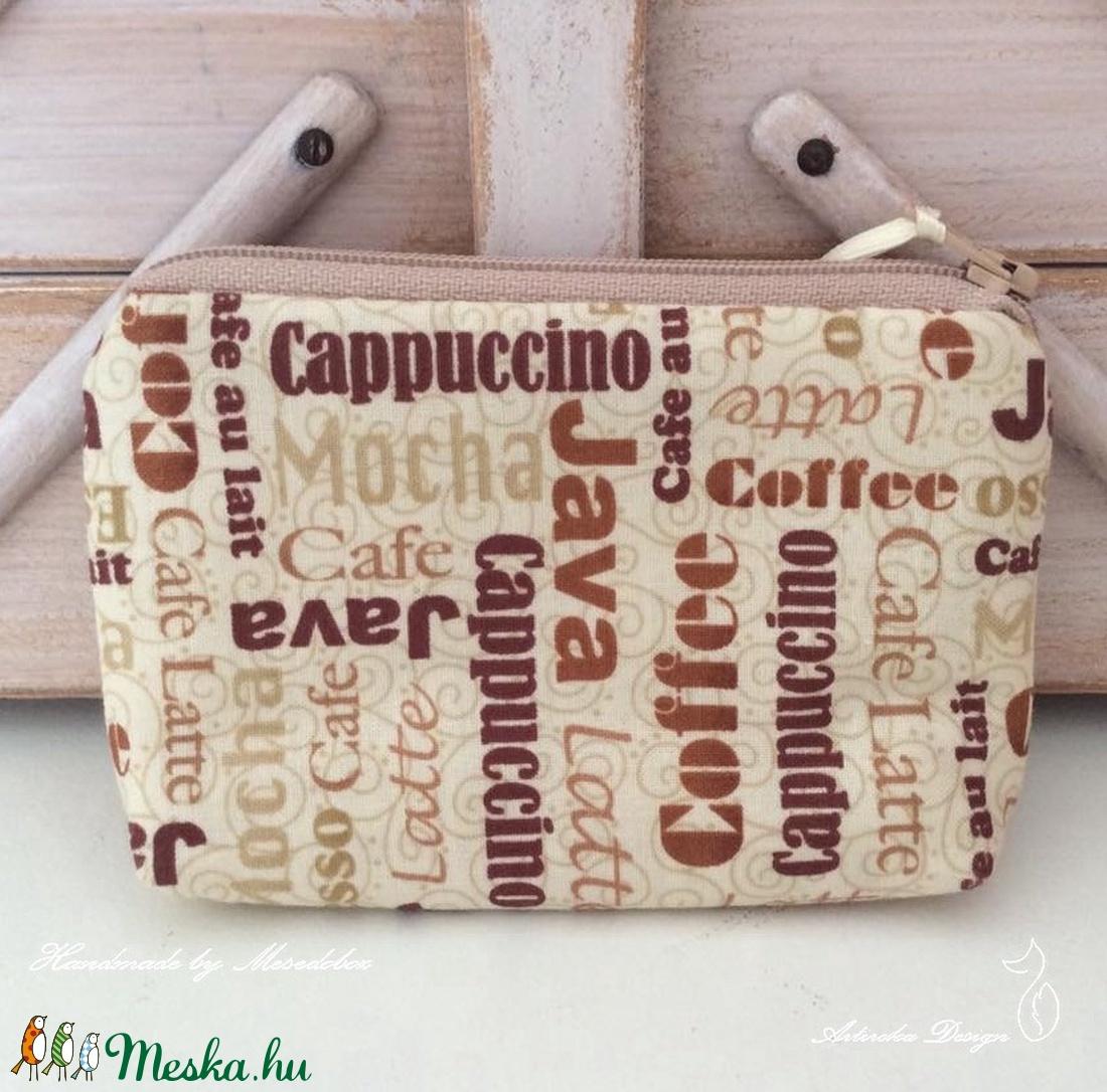 Kérsz egy kávét? - Kávé rajongók irattartó pénztárcája - Artiroka design - Meska.hu