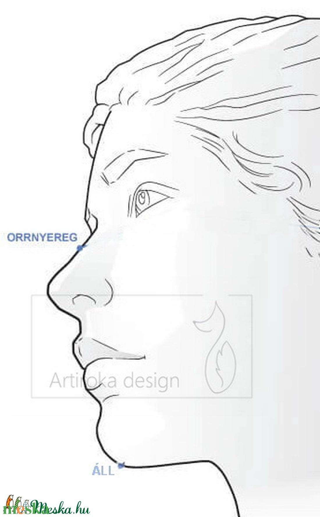 Kör a körben, vidám színes arcmaszk, szájmaszk, maszk, gyerekmaszk  - Artiroka design - maszk, arcmaszk - női - Meska.hu