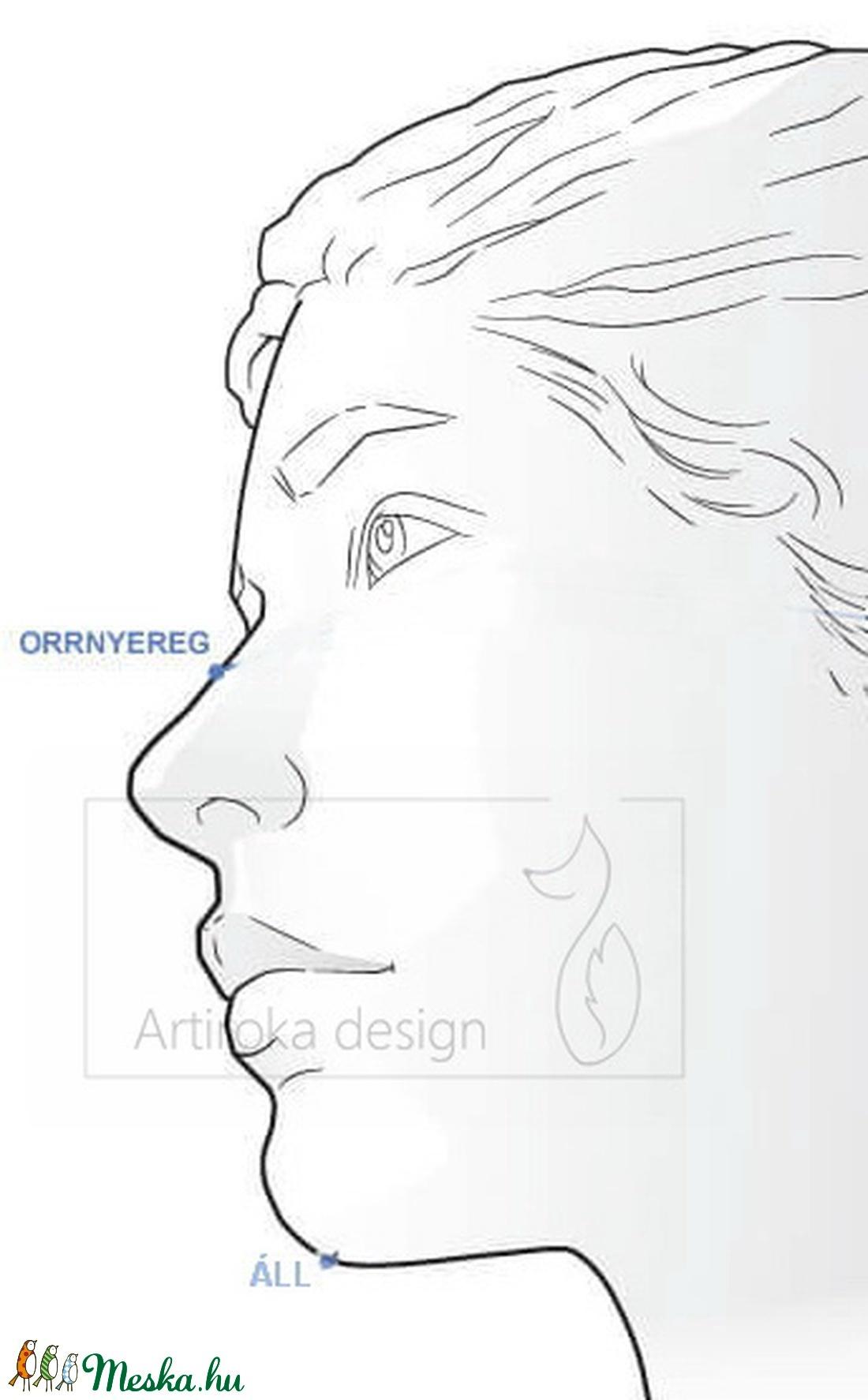 Nyuszi mintás prémium arcmaszk, szájmaszk, maszk - gyerek méret - XS méret-  Gyereknap - Artiroka design - maszk, arcmaszk - gyerek - Meska.hu