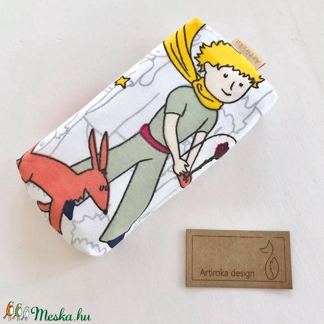 Kis herceg mintás zsebkendő tartó  - Artiroka design - táska & tok - pénztárca & más tok - zsebkendőtartó tok - Meska.hu