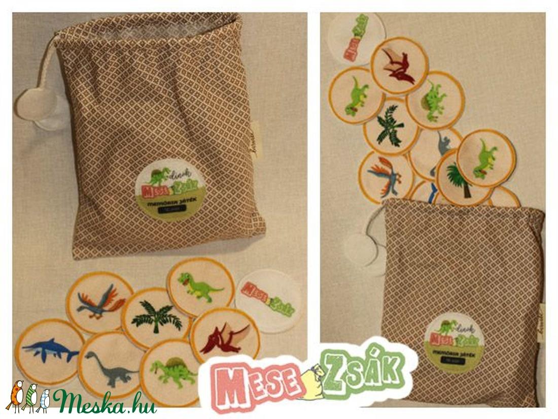 Memóriajáték-textil (Mesezsak) - Meska.hu