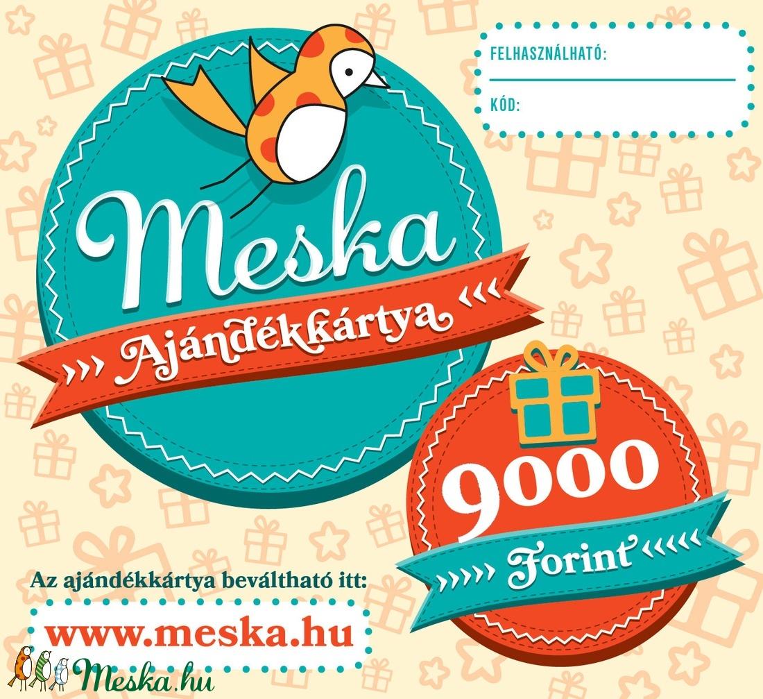 Meska Ajándékkártya - 9000 Ft - Meska.hu