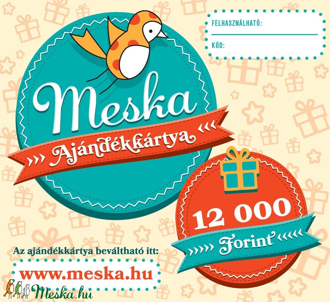 Meska Ajándékkártya - 12 000 Ft (MeskaAjandekkartya) - Meska.hu