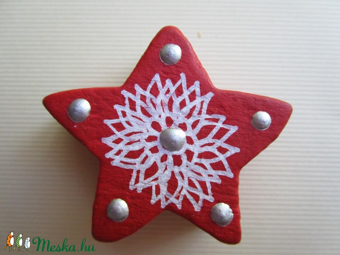 Karácsonyi csillag dísz (meszianiko) - Meska.hu