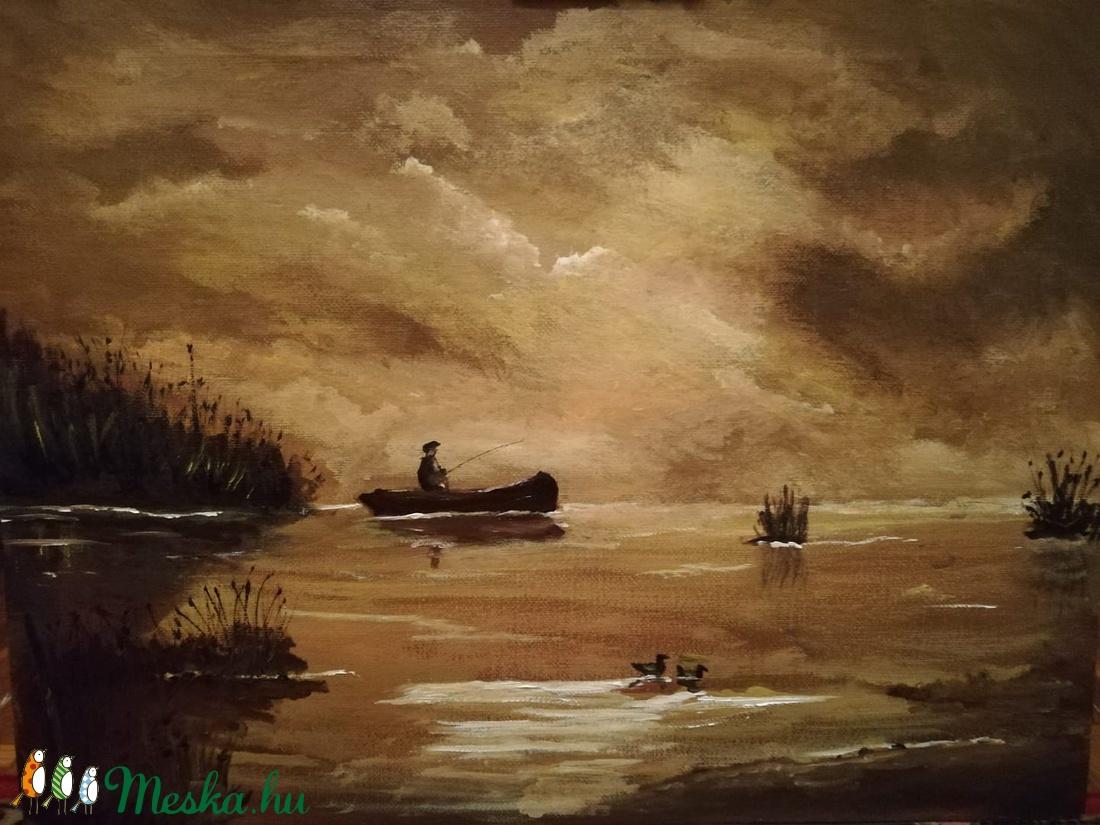 A csónak (meszike3) - Meska.hu