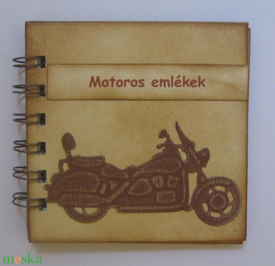 Motoros emlékek -legénybúcsú -  rendezvények - találkozók,- versenyek - csoportajándék - emlékmegőrző - otthon & lakás - papír írószer - könyv - Meska.hu