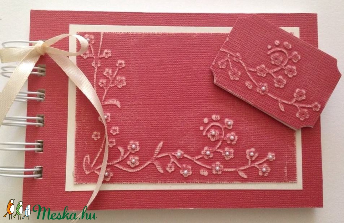 Jókívánságkönyv -  lánybúcsú -  esküvő - születésnap - szülőköszöntő emlékalbum  anyának - egyedi ajándék - örök emlék - otthon & lakás - papír írószer - album & fotóalbum - Meska.hu