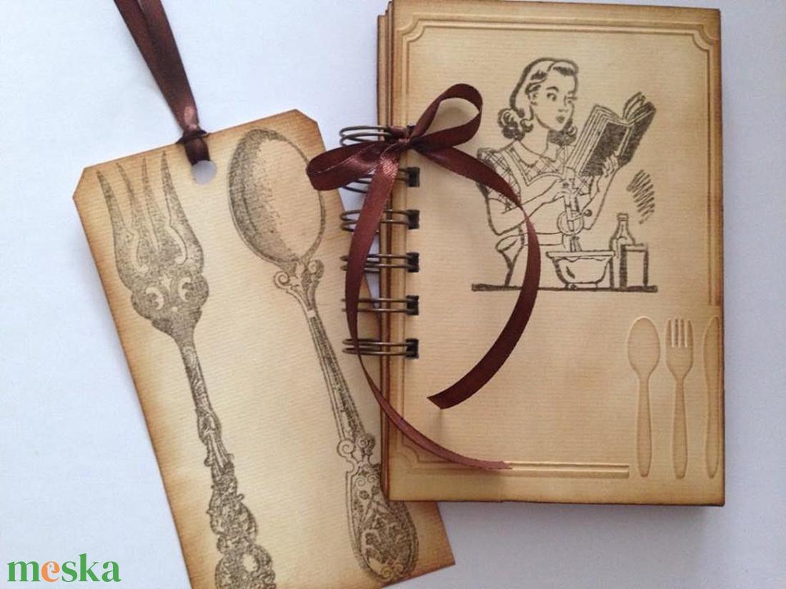 Apró ötletek leendő feleségeknek, kezdő háziasszonyoknak - lánybúcsú - ballagó szakácstanuló - egyedi termék -örök emlék - otthon & lakás - papír írószer - jegyzetfüzet & napló - Meska.hu