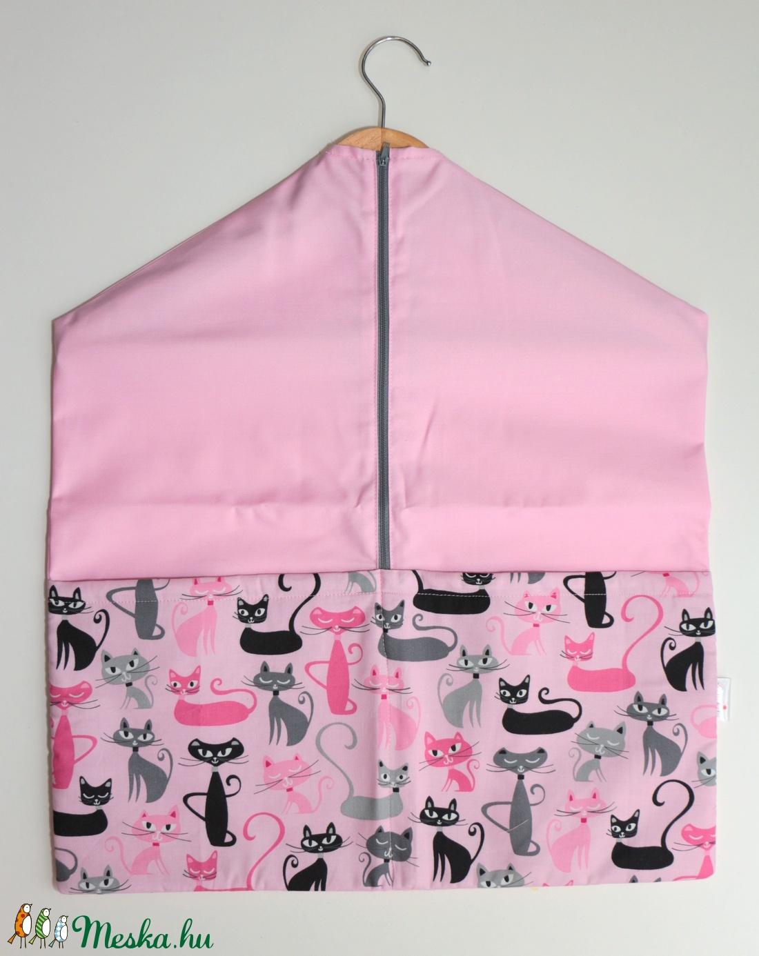 Oviszsák - tornazsák rózsaszín cicás (Mimmoza) - Meska.hu