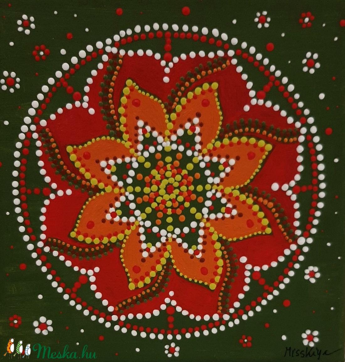Képességeiddel szolgálj másokat! mandala - otthon & lakás - dekoráció - mandala - Meska.hu