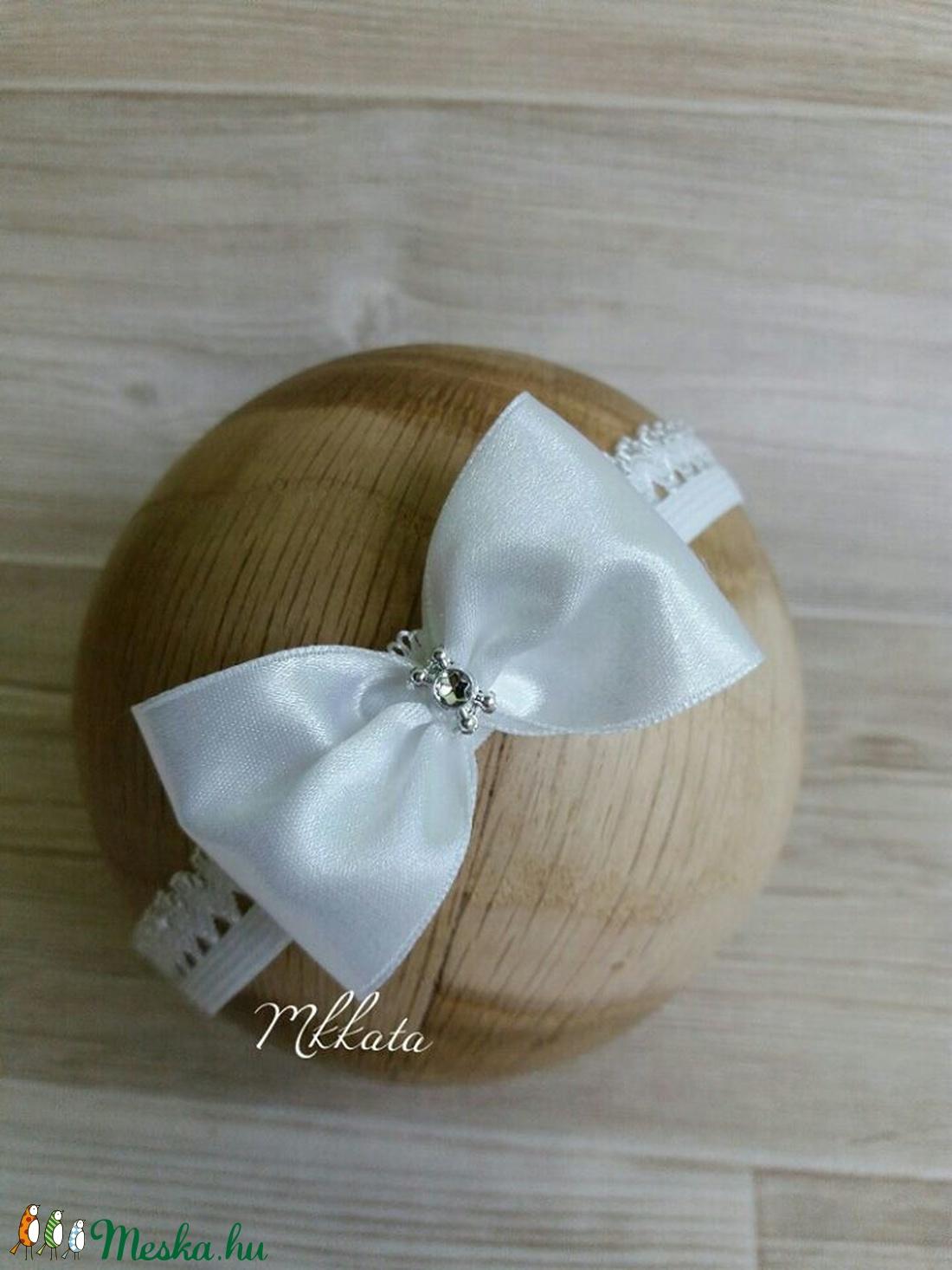 Alkalmi újszülött baba fejpánt 0-6, 6-12  hónapos méretben (Mkkata) - Meska.hu
