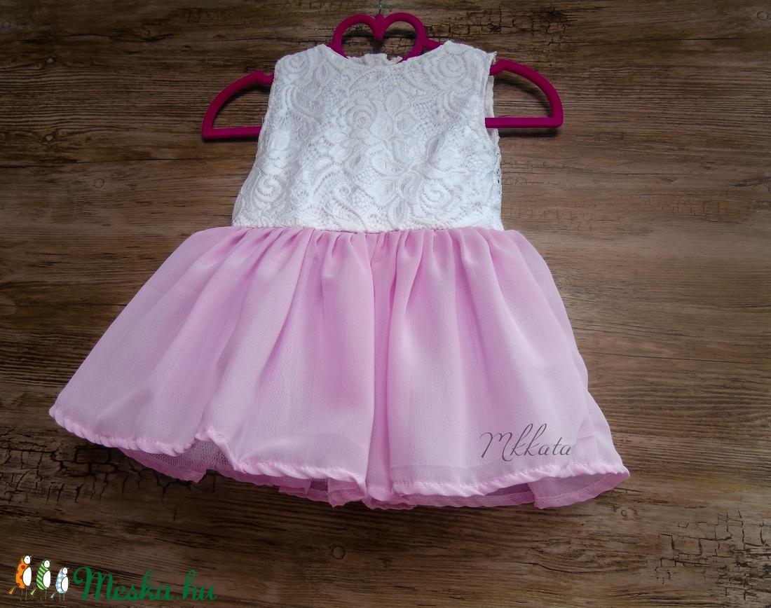 Alkalmi ,keresztelő kislány ruha több méretben  (Mkkata) - Meska.hu