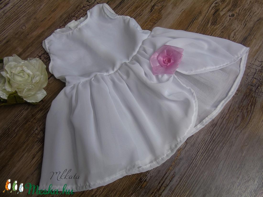 Alkalmi ,keresztelő kislány ruha 68-as méret - ruha & divat - babaruha & gyerekruha - keresztelő ruha - Meska.hu