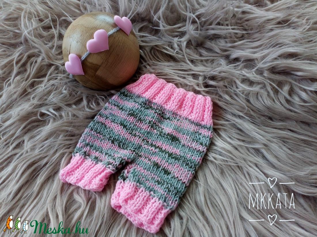 Kötött baba szett fotózásra 0-2 hónapos méret  (Mkkata) - Meska.hu