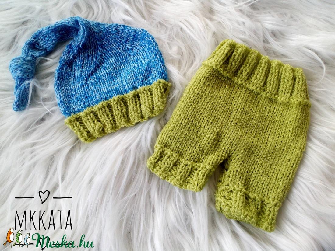 Kötött  baba szett 0-2  hónapos méret (Mkkata) - Meska.hu