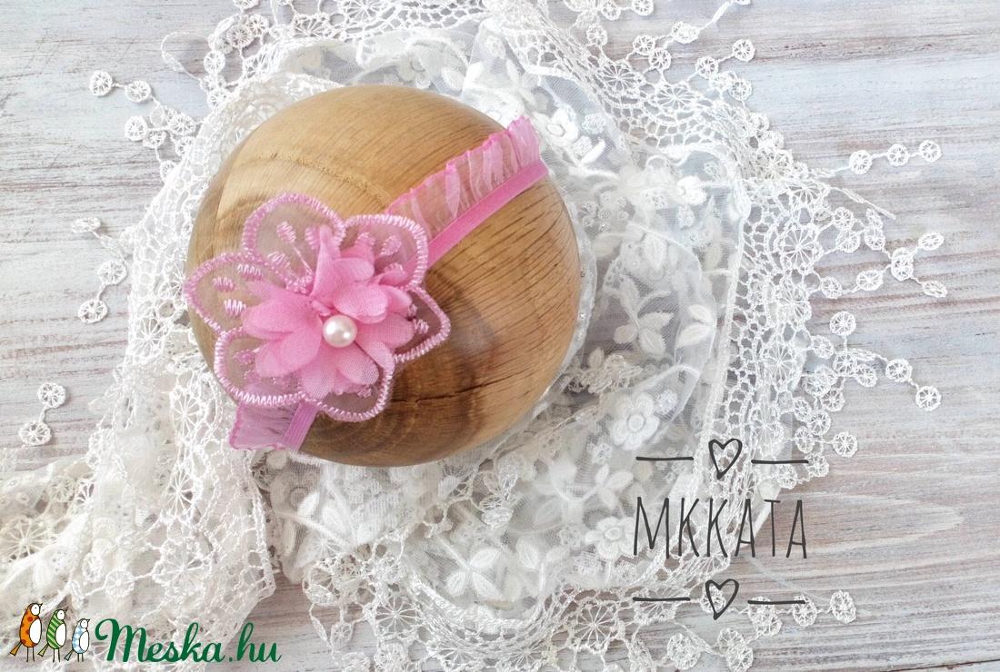 Újszülött / baba fejpánt 0-6 hó  (Mkkata) - Meska.hu