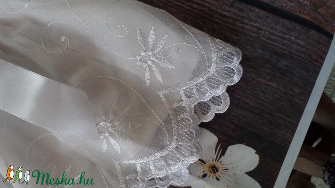 Alkalmi ,keresztelő kislány ruha 74 es méret  - ruha & divat - babaruha & gyerekruha - keresztelő ruha - Meska.hu