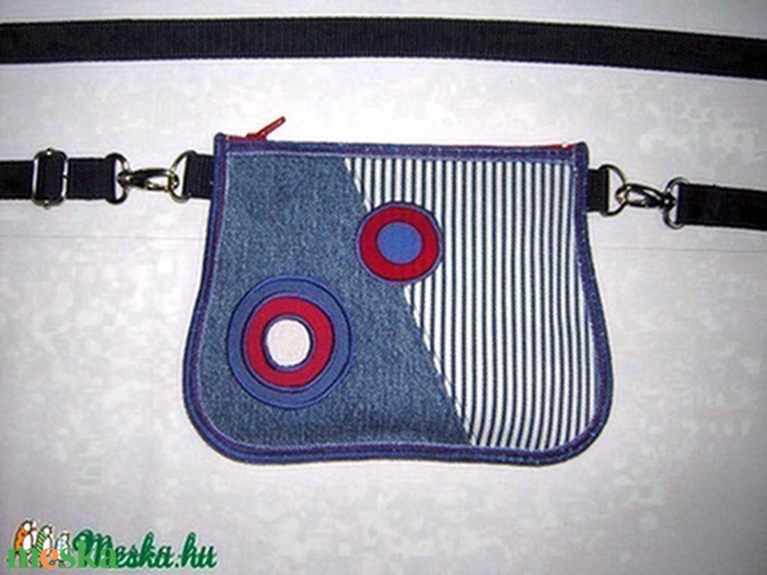 Farmer 2in1 övtáska  kistáska  amerikai zászlós - táska & tok - övtáska - Meska.hu