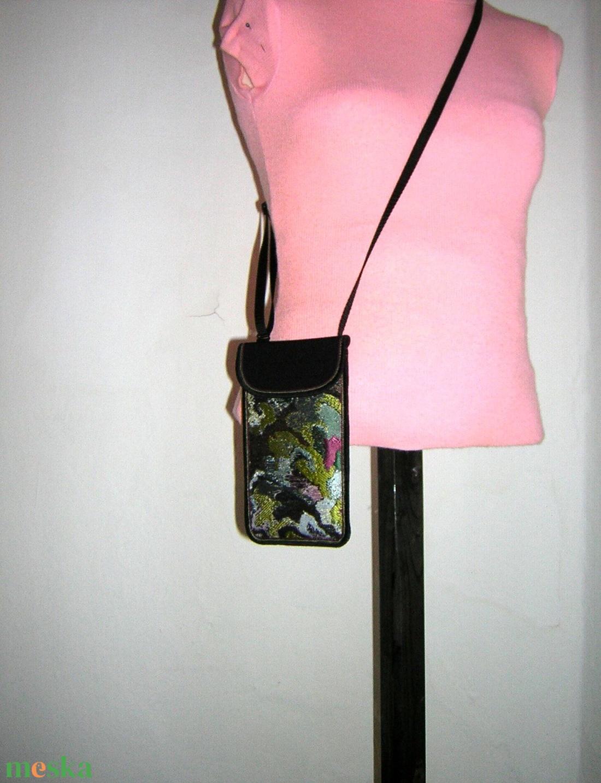 Mobiltok állítható pánttal XL telefon tartó Elegáns Nyakba akasztható kistáska - táska & tok - pénztárca & más tok - telefontok - Meska.hu