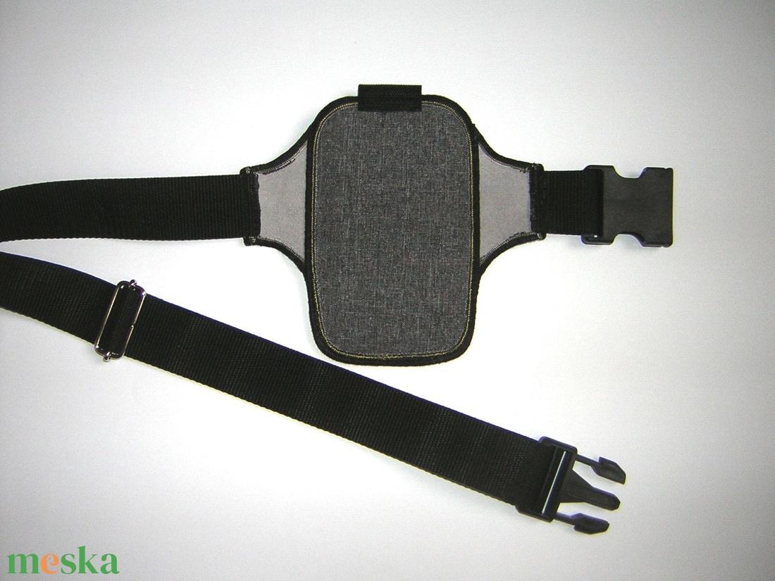 Futós mobiltok csípőtáska állítható pánttal  iPhone 12 mini - táska & tok - övtáska - Meska.hu
