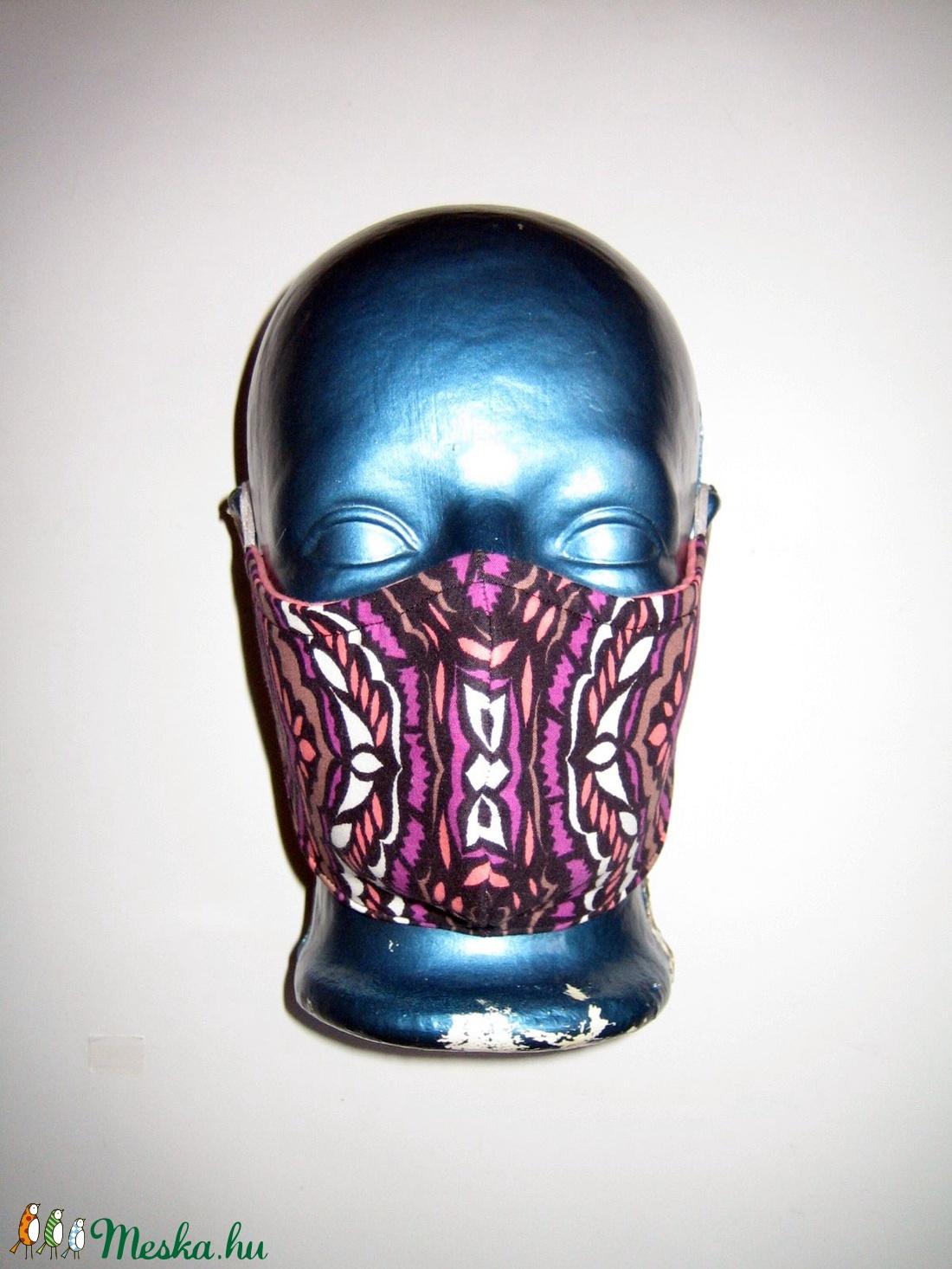 Szájmaszk szabályozható gumival arcmaszk biciklis maszk  - maszk, arcmaszk - női - Meska.hu