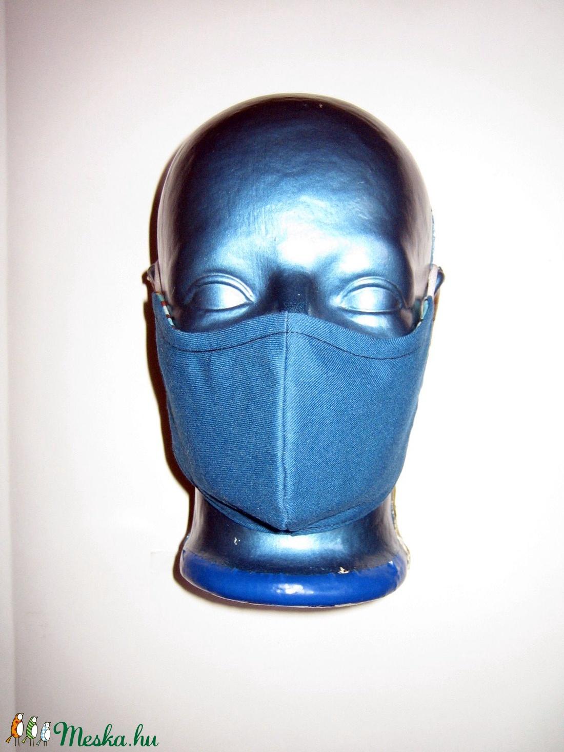 Minőségi Szájmaszk szabályozható gumival arcmaszk 2in1 textil maszk  - maszk, arcmaszk - női - Meska.hu