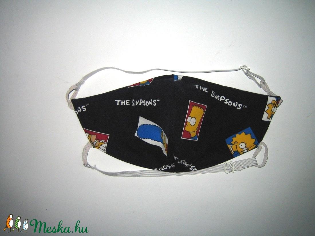 Simpsons egyedi - szájmaszk szabályozható gumis arcmaszk biciklis maszk   - maszk, arcmaszk - férfi & uniszex - Meska.hu