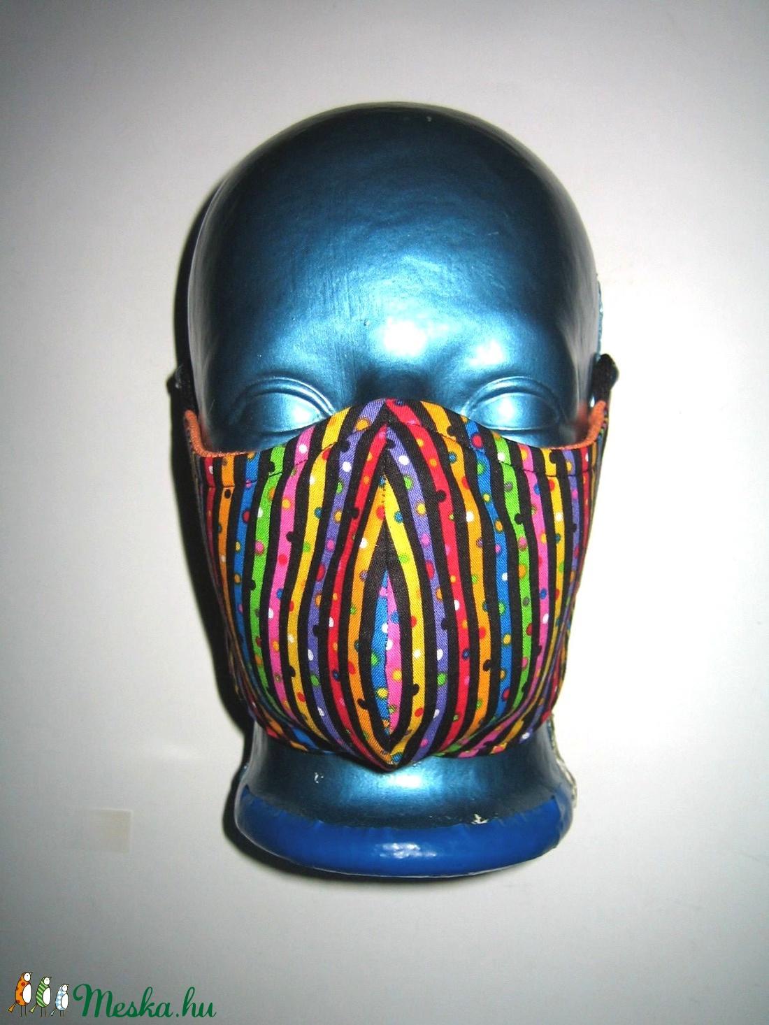 Szájmaszk szabályozható gumis arcmaszk biciklis maszk   - maszk, arcmaszk - női - Meska.hu