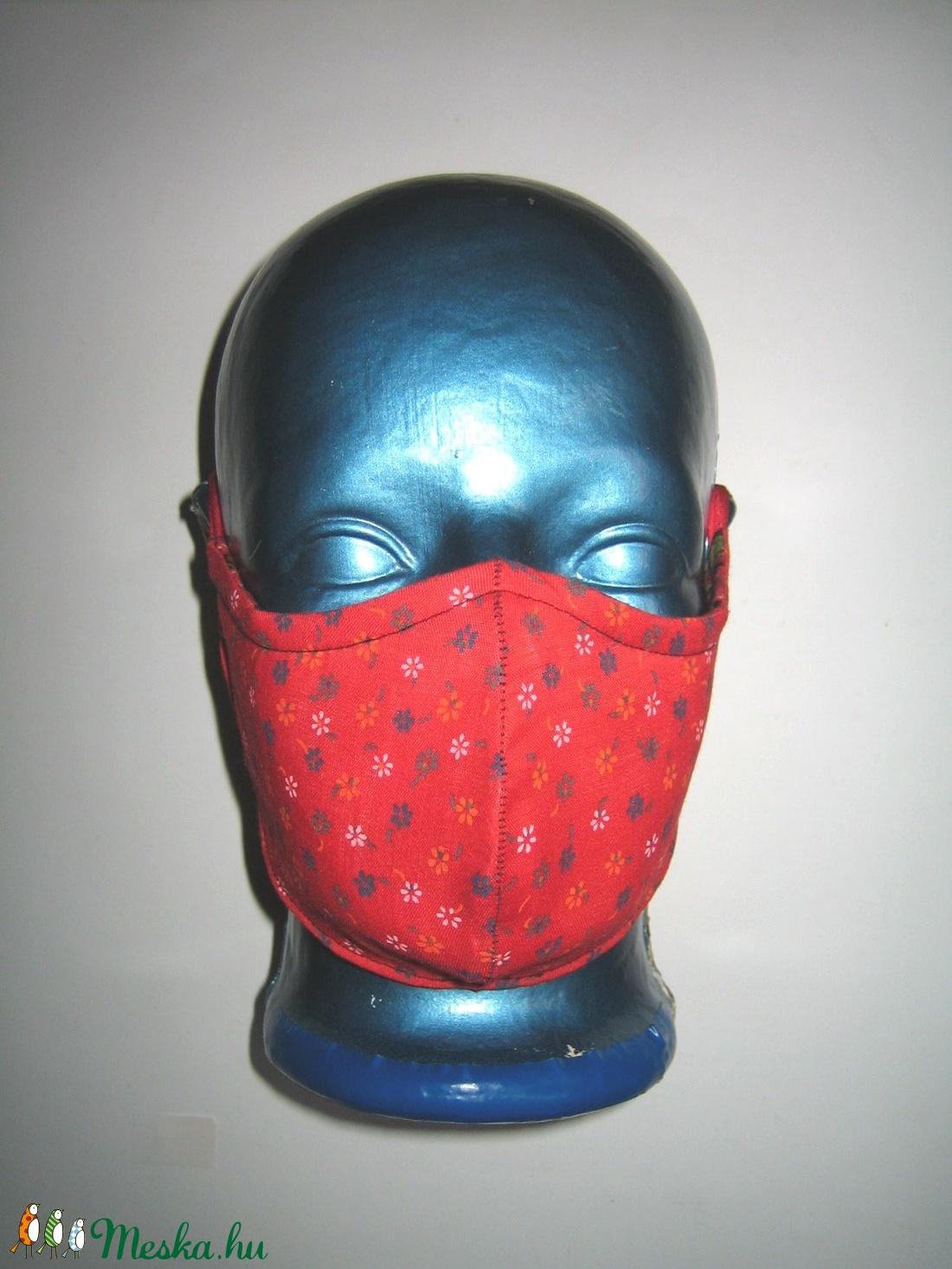 Virágos Szájmaszk textil maszk állítható gumival 2in1 arcmaszk - maszk, arcmaszk - női - Meska.hu