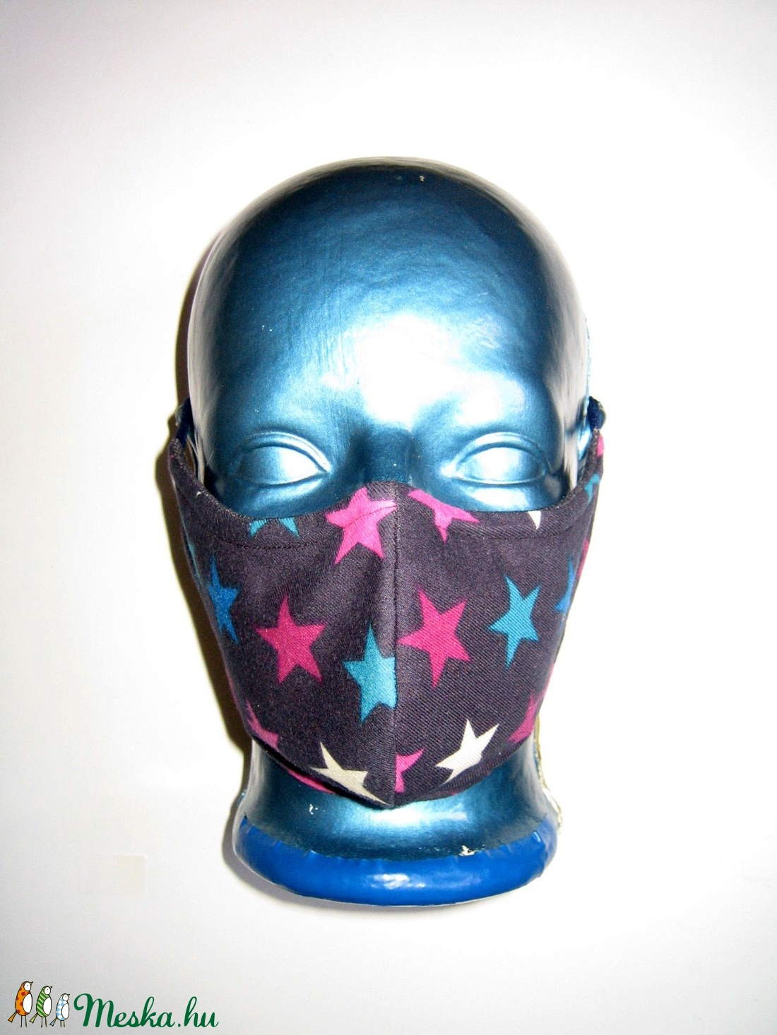 Szájmaszk szemüvegeseknek orrmerevítős arcmaszk fülre akasztható textil maszk  - maszk, arcmaszk - női - Meska.hu