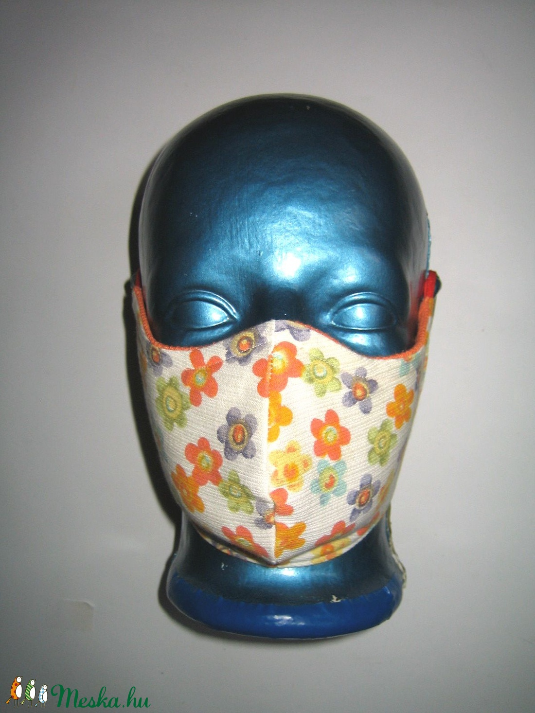 2db vidám egyedi - szájmaszk szabályozható gumival 4in2 arc maszk - maszk, arcmaszk - női - Meska.hu
