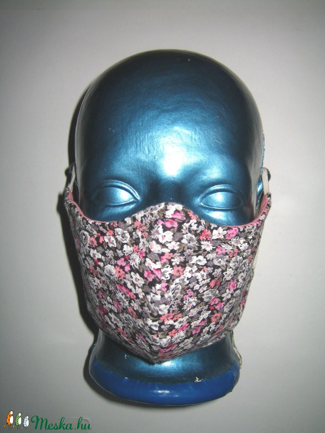 Egyedi- szájmaszk szemüvegeseknek orrmerevítős arcmaszk textil maszk virágos - maszk, arcmaszk - női - Meska.hu