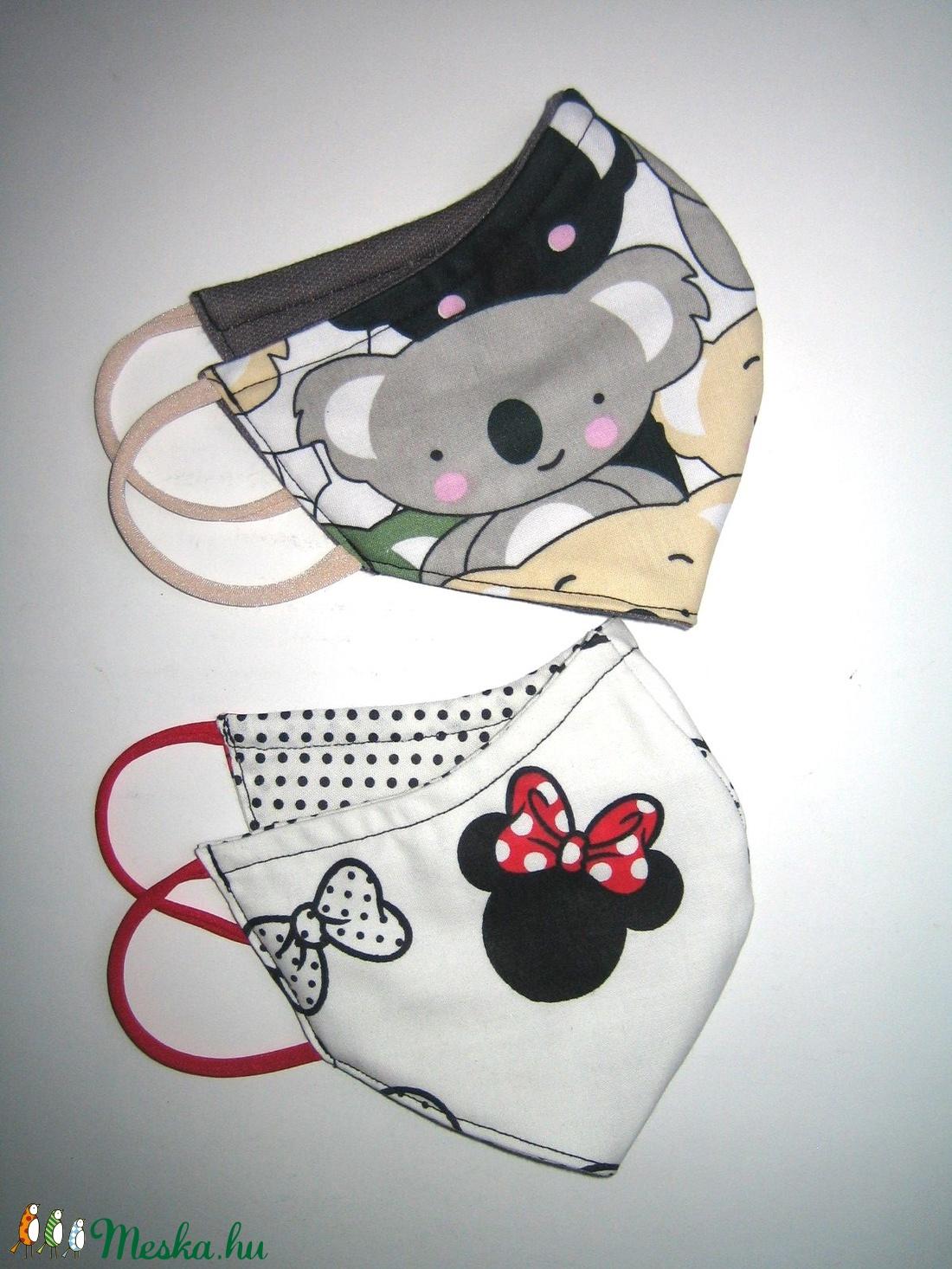 4in2 szájmaszk szett arc maszk Minnie és Koala - maszk, arcmaszk - női - Meska.hu