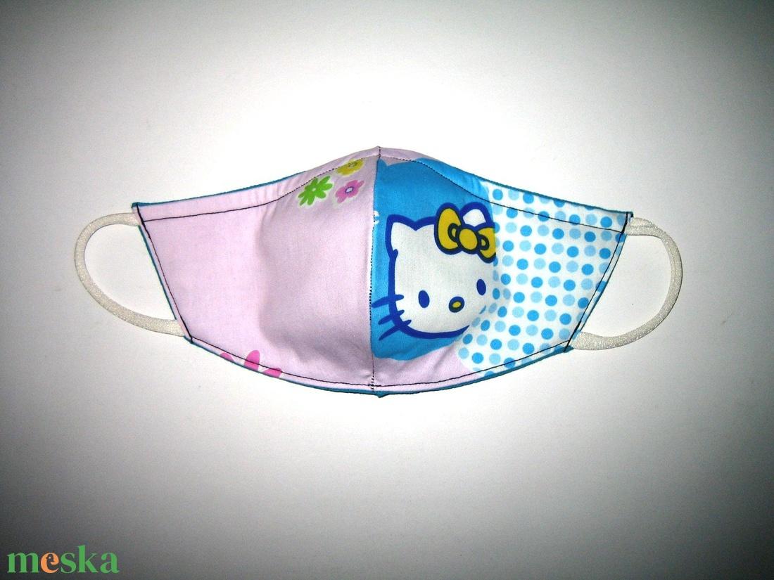 Hello Kitty Egyedi Szájmaszk arcmaszk biciklis maszk   - maszk, arcmaszk - gyerek - Meska.hu