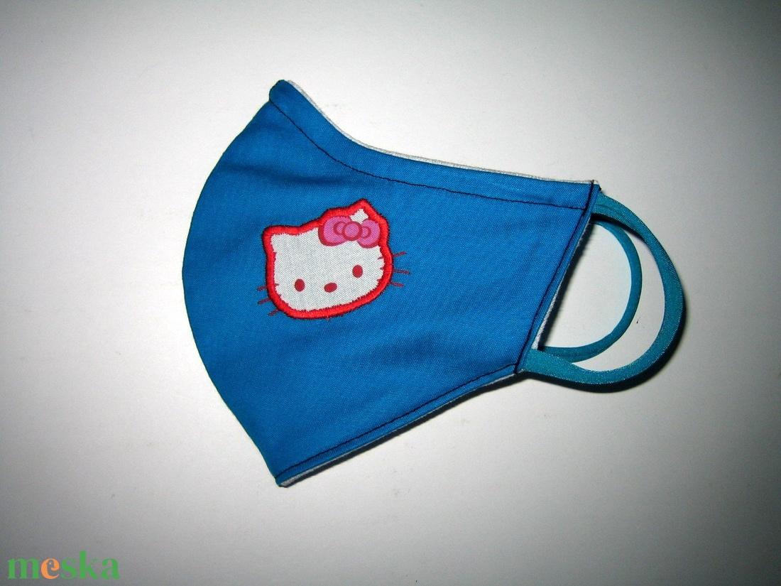 Hello Kitty Egyedi orrmerevítős Szájmaszk 2in1 arcmaszk biciklis maszk   - maszk, arcmaszk - női - Meska.hu