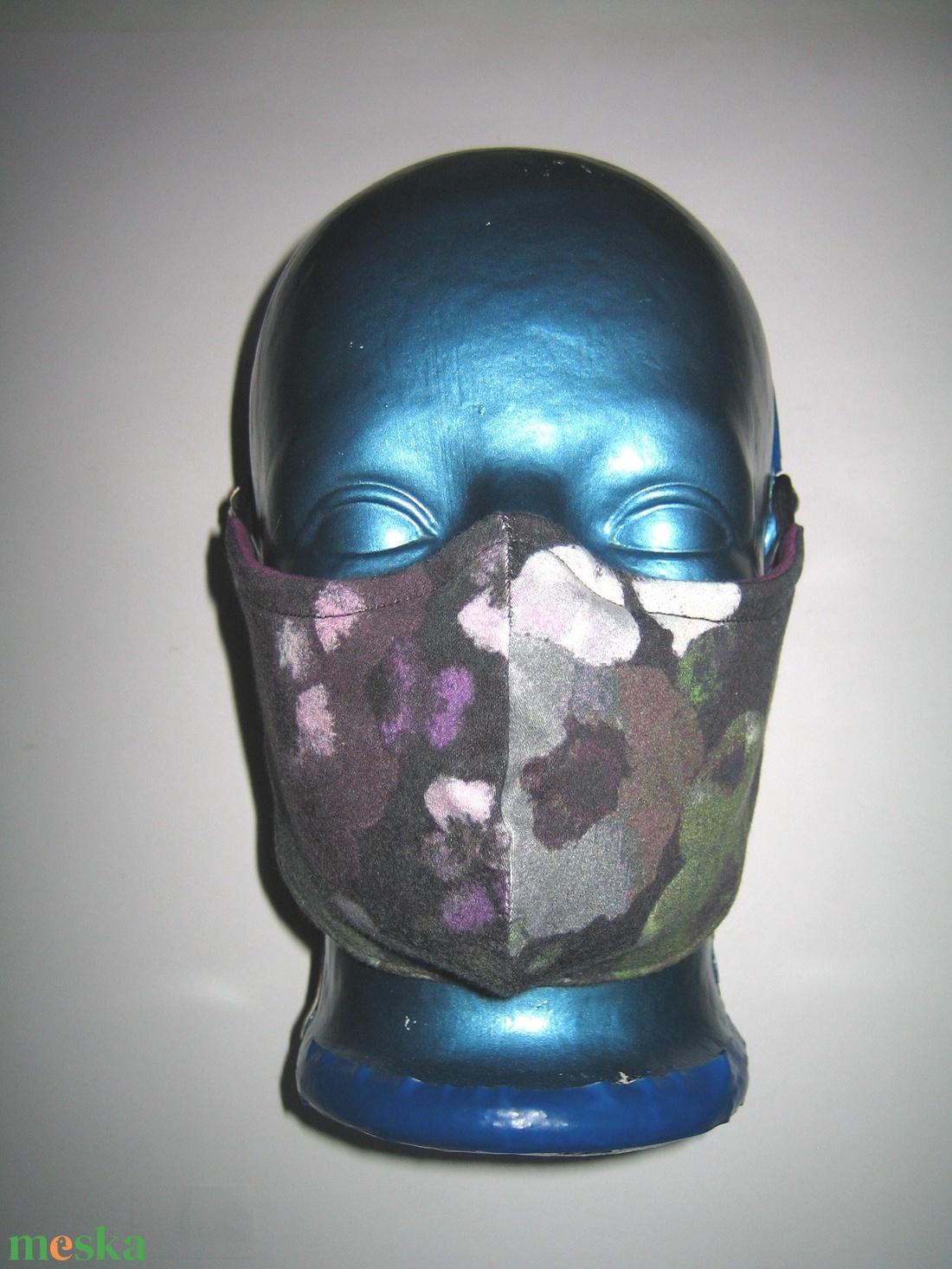 Egyedi orrmerevítős szájmaszk  arcmaszk textilmaszk virágos - maszk, arcmaszk - női - Meska.hu