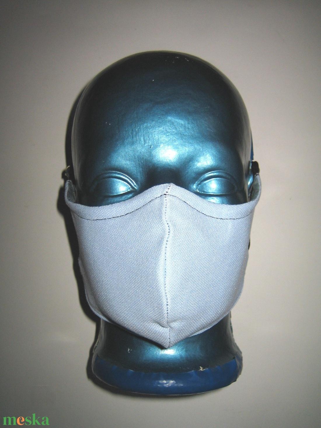 Egyedi orrmerevítős szájmaszk  fülre akasztható arcmaszk textilmaszk Hullámok - maszk, arcmaszk - női - Meska.hu