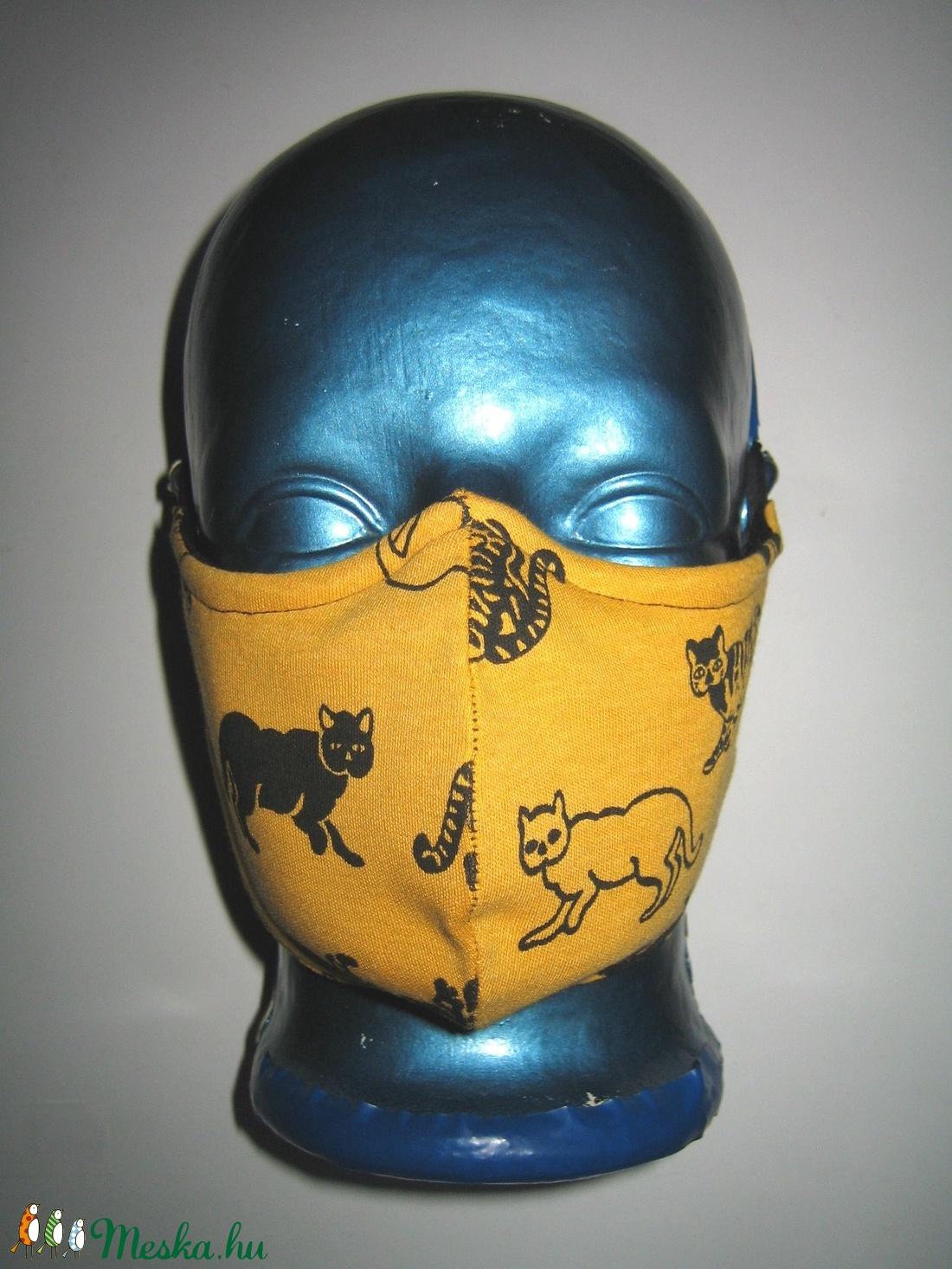 Egyedi orrmerevítős szájmaszk  fülreakasztható arcmaszk textilmaszk - maszk, arcmaszk - női - Meska.hu