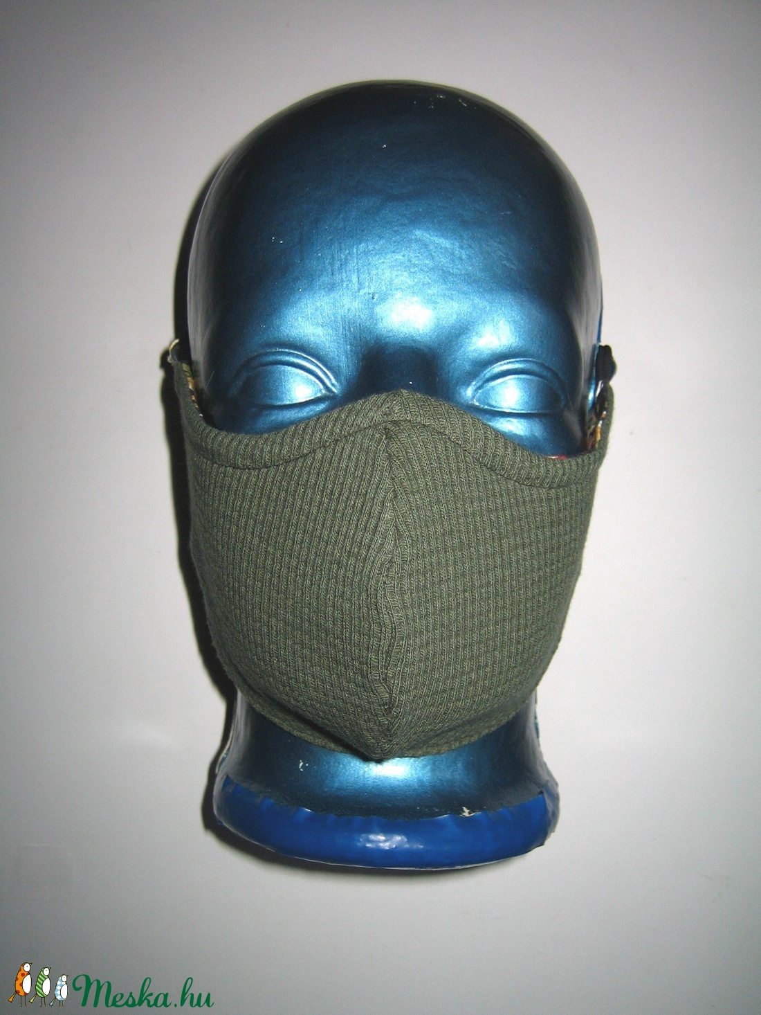 Virágos szájmaszk fülre akasztható arcmaszk 2in1 textil maszk   - maszk, arcmaszk - női - Meska.hu