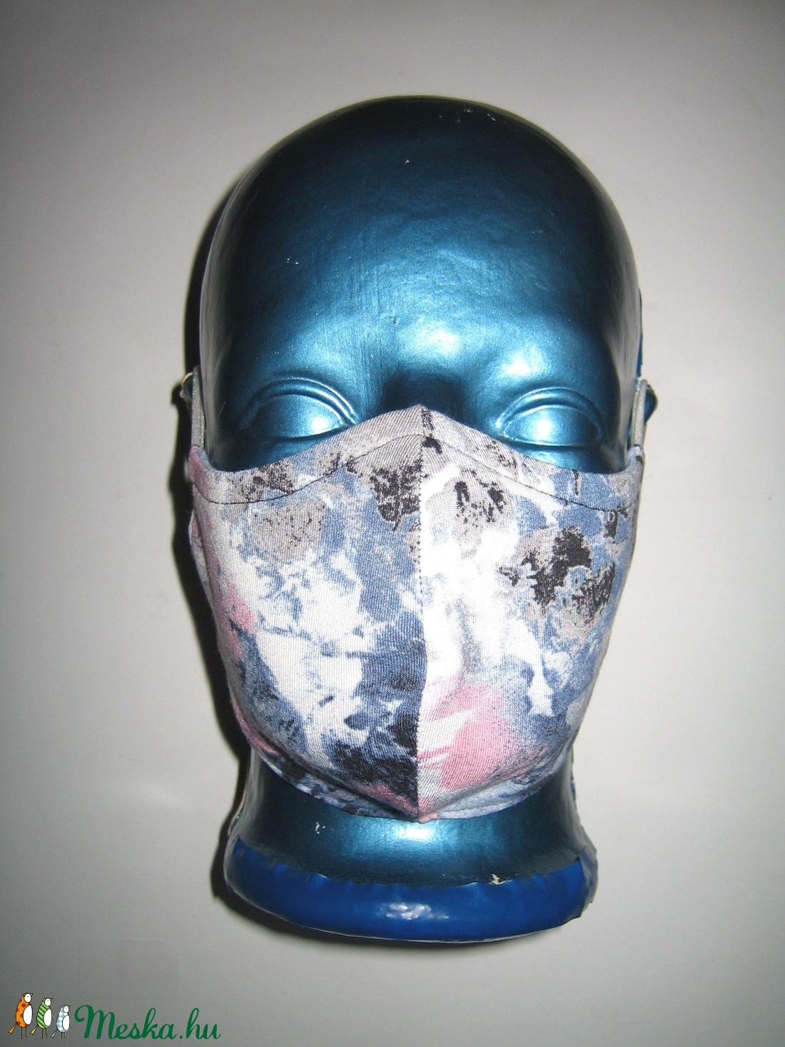 Szájmaszk fülre akasztható arcmaszk 2in1 textil maszk  - maszk, arcmaszk - női - Meska.hu