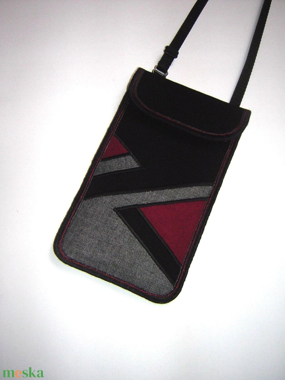 Mobiltok nagy méretű telefonokhoz egyedi telefontartó állítható pánttal  - táska & tok - pénztárca & más tok - telefontok - Meska.hu