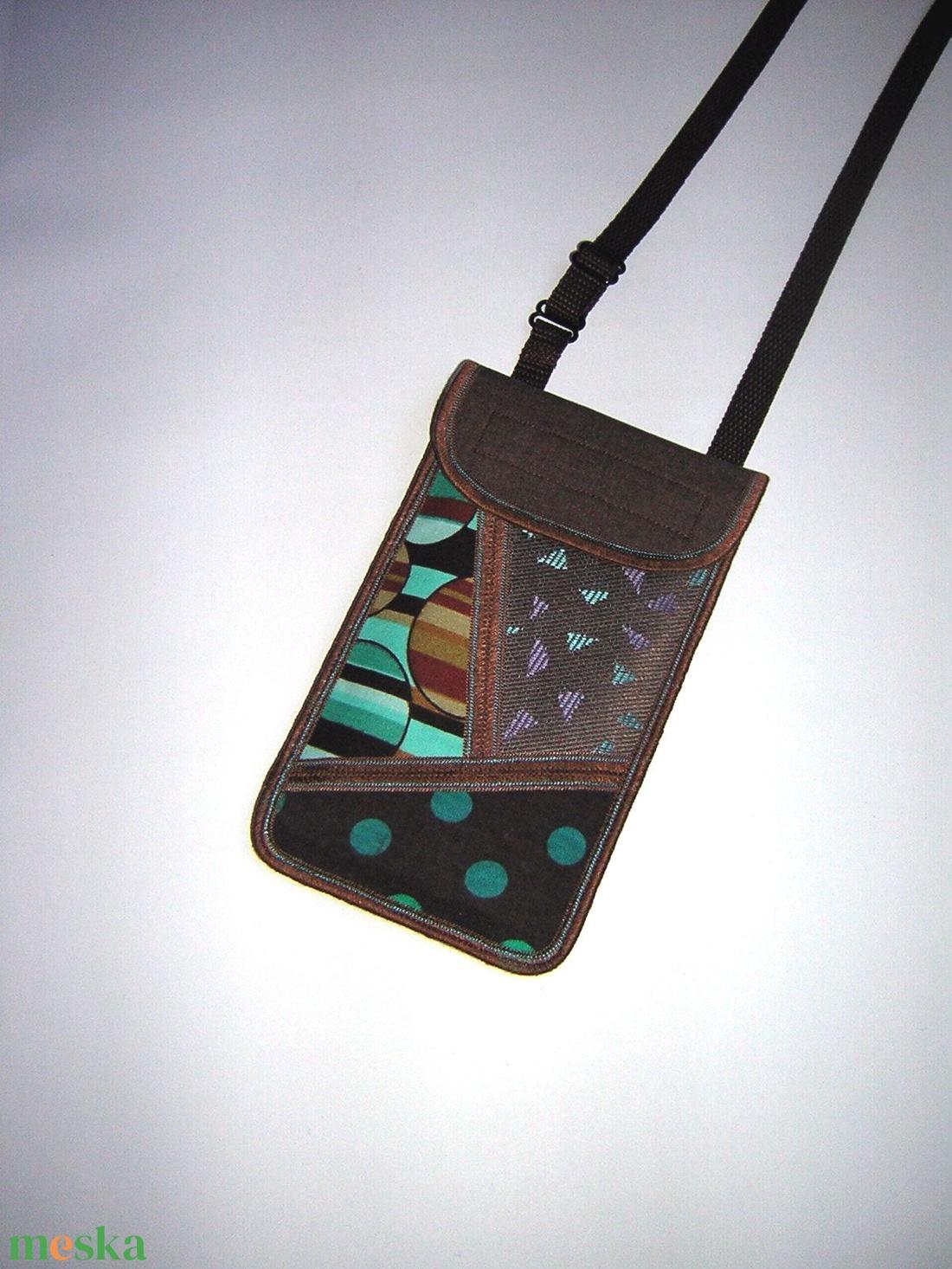 Mobiltok állítható pántos  XL telefon tartó Nyakba akasztható kistáska  - táska & tok - pénztárca & más tok - telefontok - Meska.hu