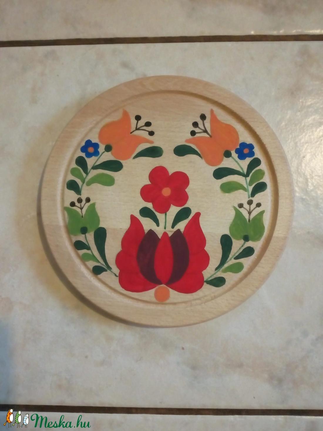 Deszka népi motívummal (Ritasflower) - Meska.hu