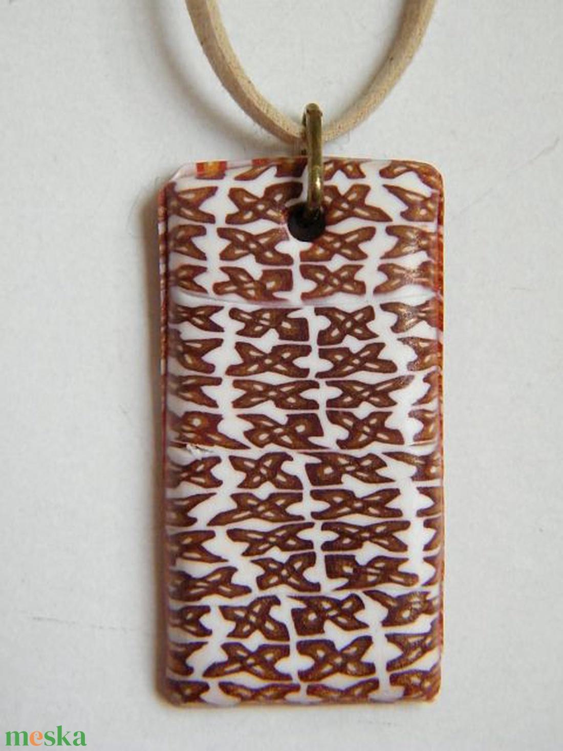 X-mező medál - ékszer - nyaklánc - medálos nyaklánc - Meska.hu