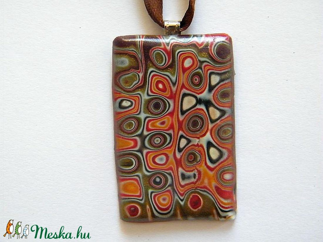 Kaleidoszkóp medál - ékszer - nyaklánc - medálos nyaklánc - Meska.hu