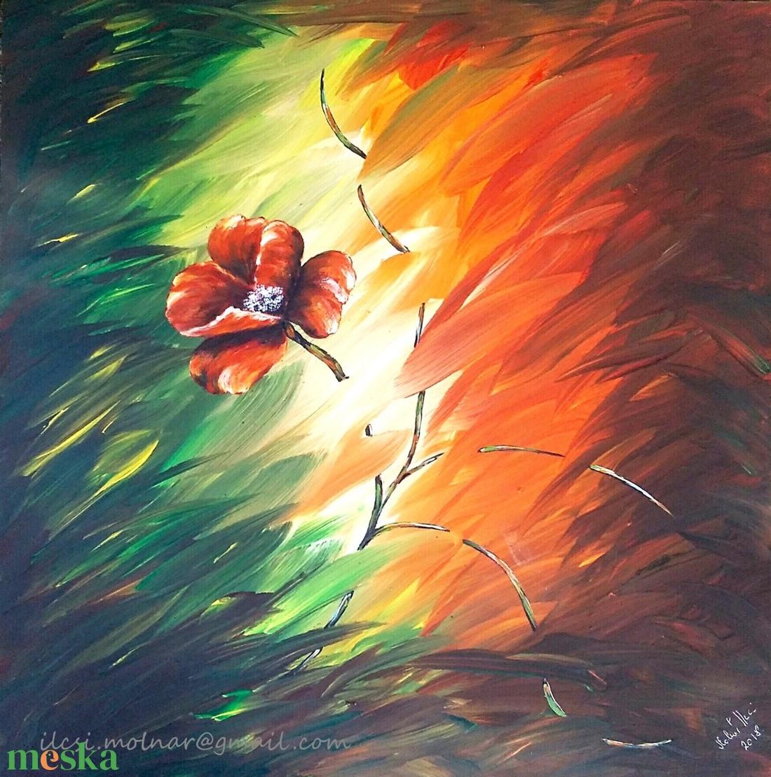 Virág, el a fénytől ...  (MolnARTIlcsi) - Meska.hu
