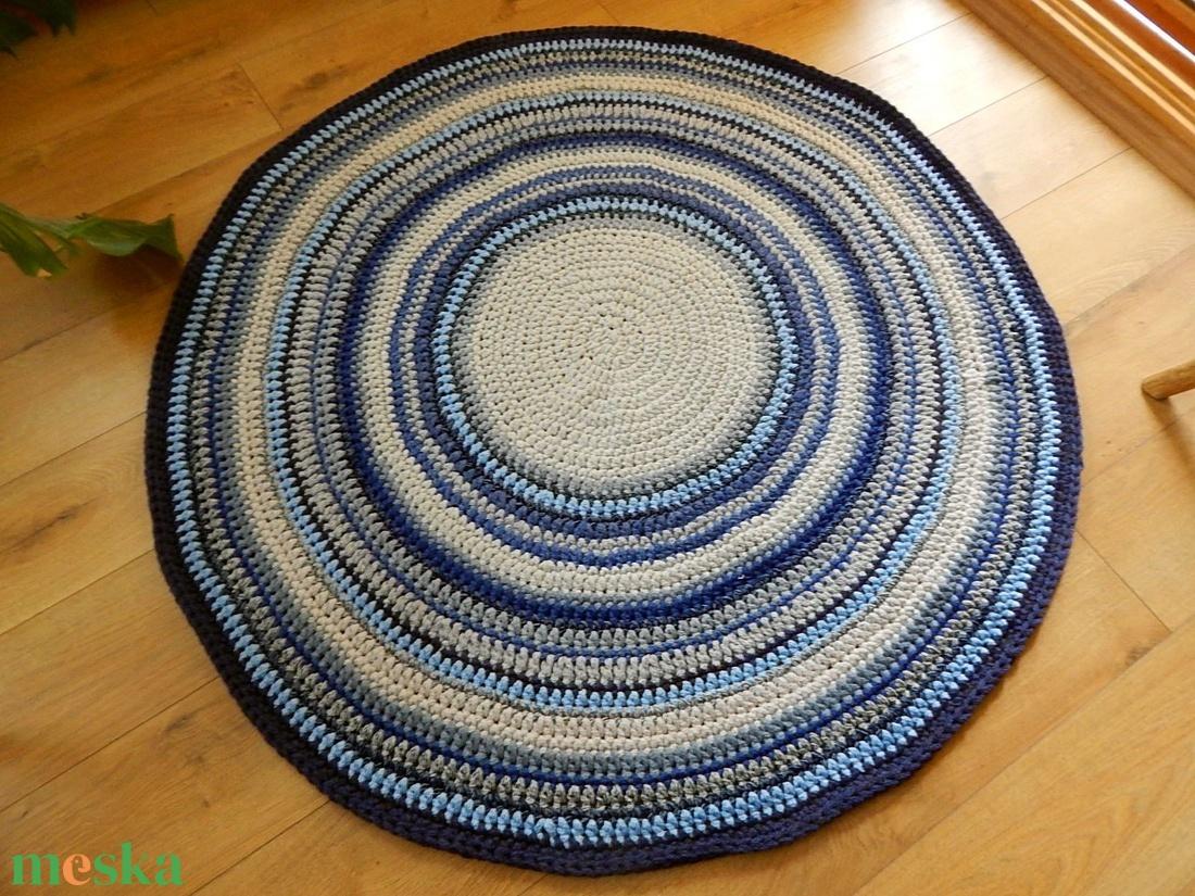 Horgolt   szőnyeg /  Mandala  - otthon & lakás - lakástextil - szőnyeg - Meska.hu