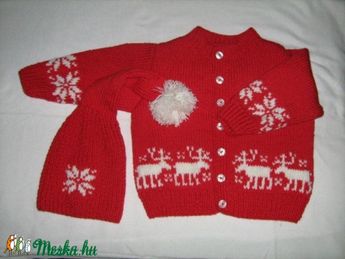 Mehetünk szánkózni! - ruha & divat - babaruha & gyerekruha - pulóver - Meska.hu